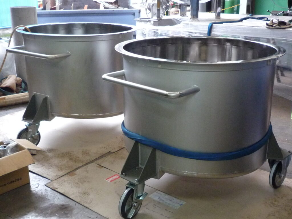 移動タンク製造